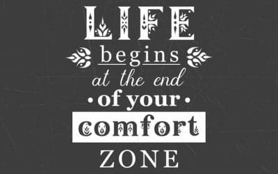 Are you struggling to achieve your goals? Maybe it's your comfort zone.